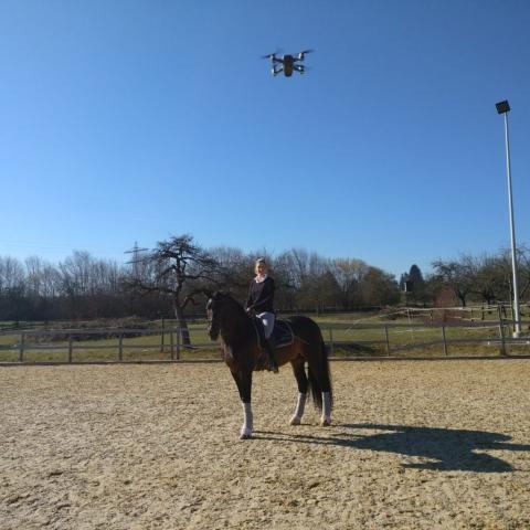 Drohne Video Dreh